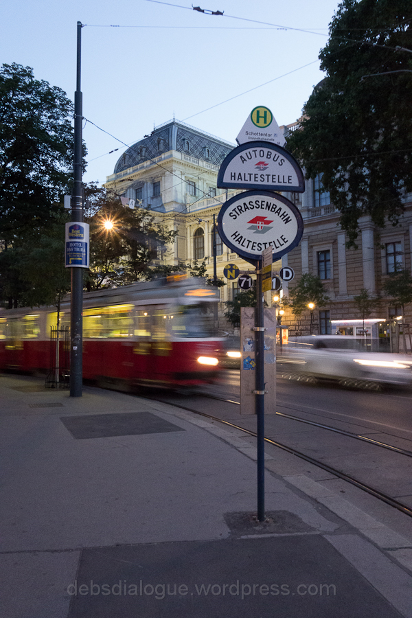 The D Tram, Vienna