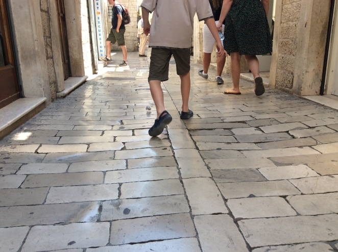 The stories in these Trogir streets