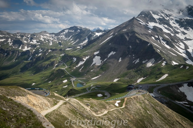 A thrilling high alpine road for your car